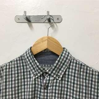 Cotton On Plaid Men's Button Down