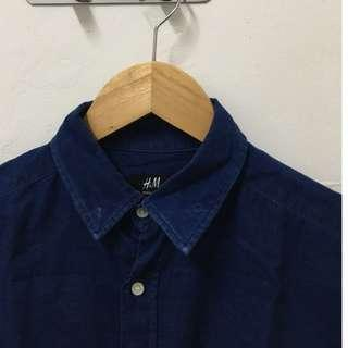 H&M Navy Men's Button Down
