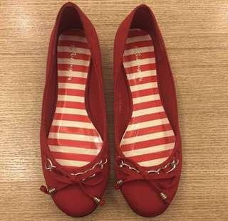 Red Flats NEW!!! Size 37