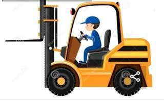 WEEKEND FORKLIFT DRIVER NEEDED