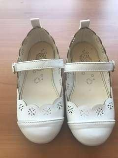 White Kid's shoe