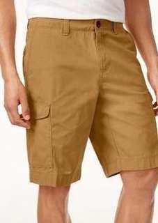🌐《現+預》⭐️2019春夏新款⭐️TommyHilfiger Custom Fit 男款 純棉純色休閒短褲沙灘褲