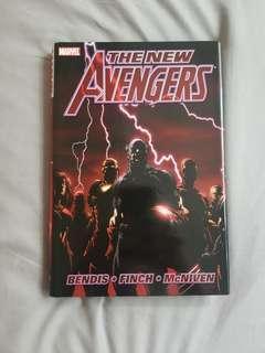 Marvel New Avengers (2005) vol 1 Deluxe Oversized Hardcover
