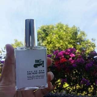 B&G CM.75.81 White inspired by Lacoste White for Men