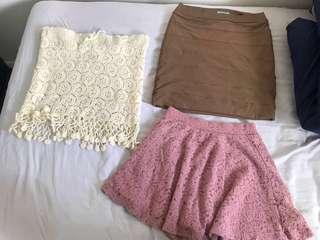 Kookai skirt and more skirts #SwapNZ