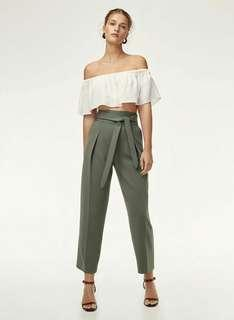 Aritzia Wilfred Feuille Pant in Sagesse
