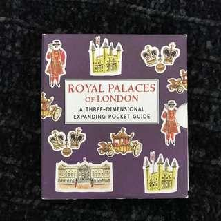 Royal Places in London Popup Book #SwapAU