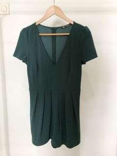 ZARA green jumpsuit