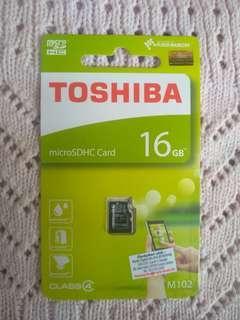 Toshiba 16GB SD Card #ME150