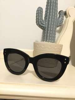Bonlook dusk sunglasses in onyx (black)