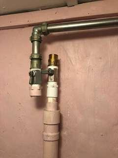 Plumber / Plumbing Services : Replace valve for main supply