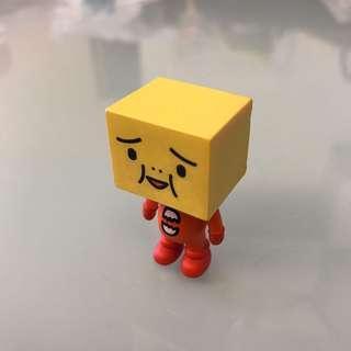 豆腐人 立體磁貼