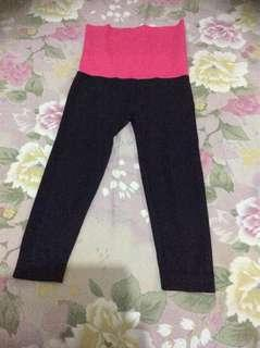 Yoga pants spandex model waist❤️