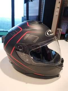 HJC Full Face Helmet Size M