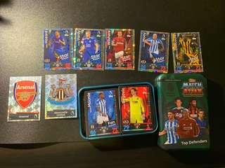 🚚 CLEARANCE SALE Match Attax 18-19 EPL cards