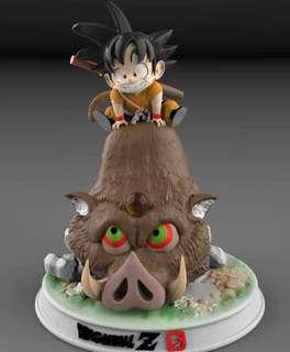 [PO] Pig Year Son Goku Resin