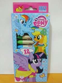 Crayon Oil Pastel karakter My Little Pony