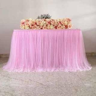 🚚 Tutu Table skirt : Ready-made Table Skirt