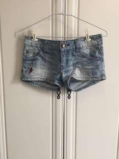 閃電牛仔短褲(二手