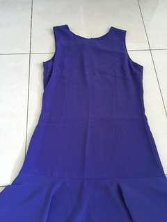 A Line purple dress from LBS