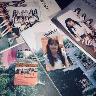 WTS LOONA ++ ALBUMS PHOTOCARDS