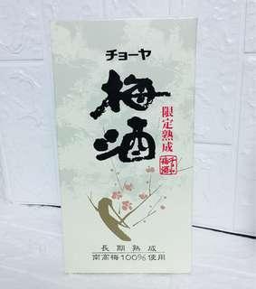 CHOYA 限定熟成梅酒17% 0.72L CHOYA Premium Umeshu 17% 0.72L