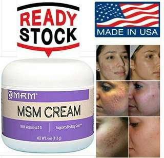 MSM Cream (#Acne, Scars, Anti aging) by MRM (USA) Exp 2021