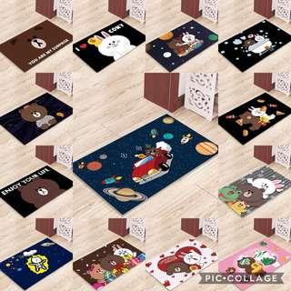 🚚 PO: line friends floor mat