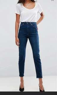 Asos farleigh Jeans(mom cut)
