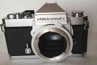 Nikon 菲林相機Nikkormat機身一部
