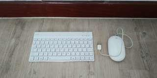 🚚 Valore keyboard and apple mouse
