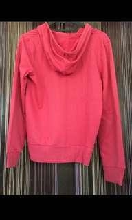 Zipper Jaket Pink