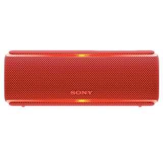 Sony SRS XB21 Wireless Speaker (RED)