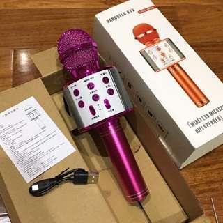 claw machine(brand new)全新未使用僅測試 娃娃機出貨 WS-858 無線藍芽麥克風 藍牙麥克風🎤
