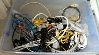 🚚 Pc Computer Cables, Various Types (Free)