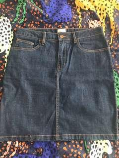 Gorman Denim Skirt 12 Great Condition