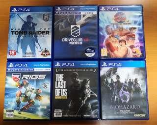 PS4 Game  Ps4 games
