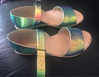 Gorman Mermaid Sandals 36 35 Worn Once
