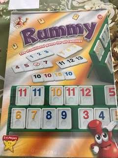Beautiful new rummy travel set nice toy