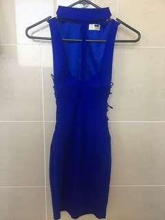 Rumor Boutique Brand New Blue Clubbing Dress - Size 6