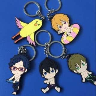 Free! Iwatobi Swim Club Keychains