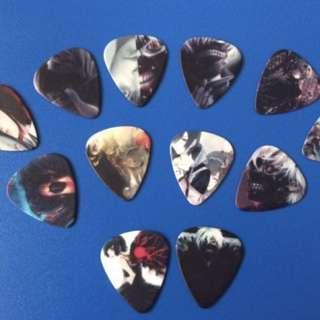 Tokyo Ghoul Guitar Picks