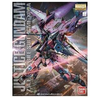 🚚 MG 1/100 Justice Gundam