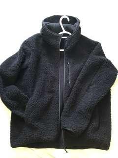 Uniqlo windproof sherpa jacket men's