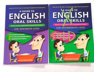 1 book : A Guide to English Oral Skills