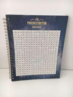 Typo procrastination notebook