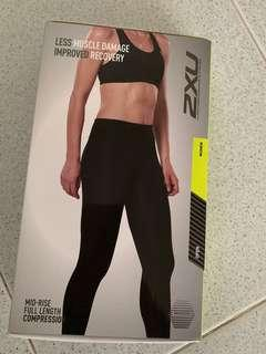 2XU mid-rise full length Compression Tights for women (size: S)
