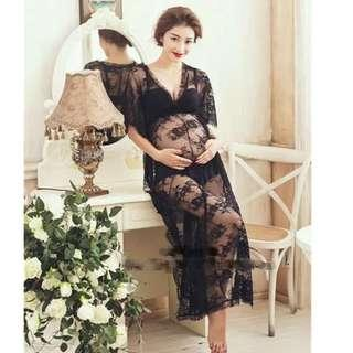 Pregnancy Dress / Studio Dress / Maternity Photo Shooting Dress