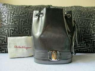 AUTHENTIC Ferragamo Petite Backpack