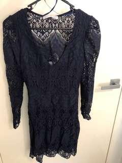 Lace dress- size 8